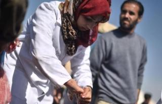 Arap Birliği'nden Rezzan hemşirenin şehit...
