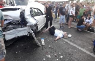 Balıkesir'de zincirleme kaza: 9 yaralı
