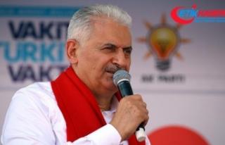 Başbakan Yıldırım'dan küçük esnafa 'vergi'...
