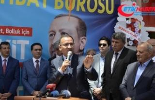 Bozdağ: Davamız, Türkiye'nin bölgesinde tartışılmaz...