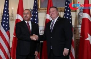 Dışişleri Bakanı Çavuşoğlu: Pompeo görüşmesi...