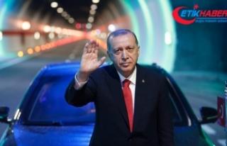 Cumhurbaşkanı Erdoğan: 16 yılda 20 bin kilometre...