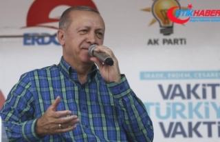 Cumhurbaşkanı Erdoğan: Hesabı da hesap yapanı...