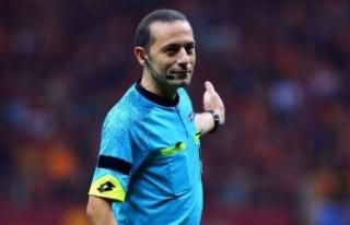 Cüneyt Çakır'ın Dünya Kupası'nda yöneteceği...