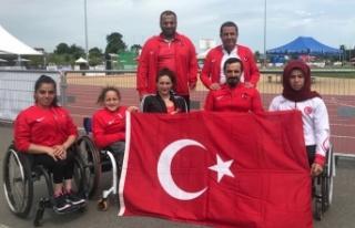 Engelli sporcular İsviçre'den birincilikle döndü