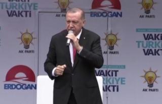Erdoğan Ovit Tüneli'nin resmi açılışını...