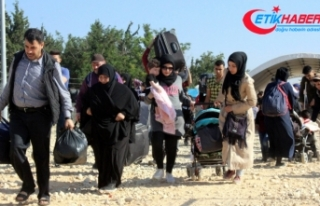 Giden Suriyelilerin sayısı 46 bini aştı