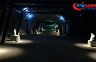 Hititlerden kalan tuz mağarası sağlık turizmine...