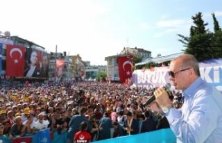 """""""İmar barışında 1 milyonu aşkın vatandaşımız..."""