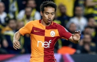 Nagatomo, Galatasaray'da son antrenmanına çıktı
