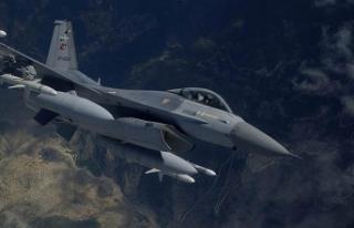 Hava harekatlarında 34 terörist etkisiz hale getirildi