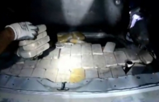 İran plakalı lüks cipten eroin fışkırdı