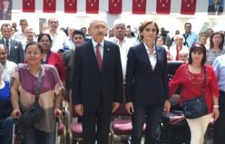 Kılıçdaroğlu'ndan engellilere 'birleşin'...