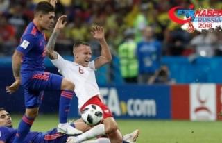 Kolombiya kazandı Polonya kupaya veda etti