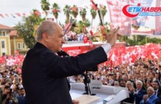 MHP Lideri Bahçeli: Hepsi bir araya gelip terörist...