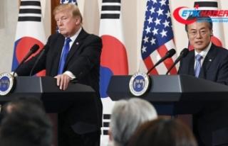 Moon ve Trump telefonda görüştü