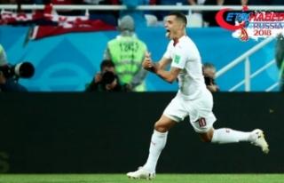 Sırbistan'dan Xhaka ve Shaqiri'nin gol...