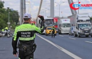 15 Temmuz etkinliklerine trafik düzenlemesi