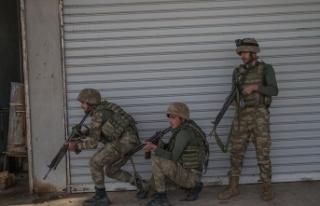 Afrin'de son bir haftada 15 terörist etkisiz...