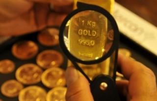 Altının gram fiyatı, 2 haftanın en düşük seviyesini...