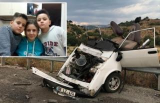 Ankara'daki kazada, ikiz kardeşler de yaşamını...
