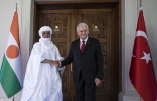 Başbakan Yıldırım, Nijer Başbakanı Rafini ile...