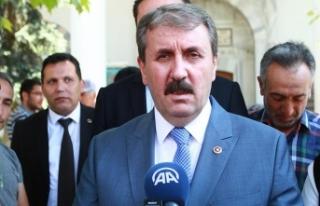 BBP Genel Başkanı Destici: (Millet ittifakı) Öküz...