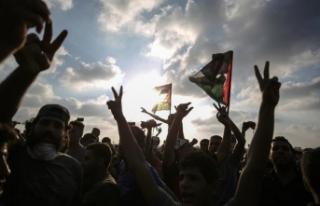 BM'den İsrail'in Gazze'de göstericileri...