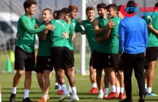 Bursaspor'da yüzler gülüyor