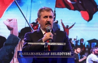 Büyük Birlik Partisi Genel Başkanı Destici: Türk...