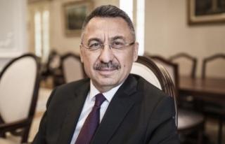 Cumhurbaşkanı Yardımcısı Oktay'dan ilk yurt...