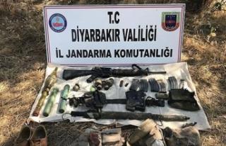 Diyarbakır'da PKK'lı terörist etkisiz...