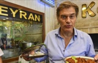 """Dr. Öz'den """"Anadolu yemekleri tüketin""""..."""
