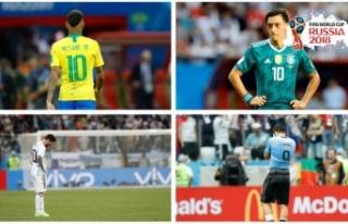 Dünya Kupası yarı finalleri '5 büyükler'den...