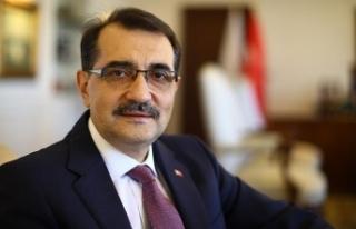 Enerji ve Tabii Kaynaklar Bakanı Fatih Dönmez: Enerjide...