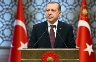 Erdoğan, Kıbrıs Barış Harekatı'nın 44....