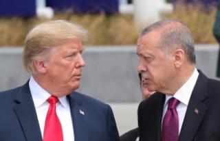 Erdoğan ve Trump aile fotoğrafı çekimine birlikte...