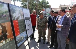Erzincan'da 15 Temmuz sergisi açıldı