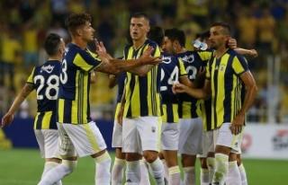 Fenerbahçe'nin UEFA Şampiyonlar Ligi'ndeki...