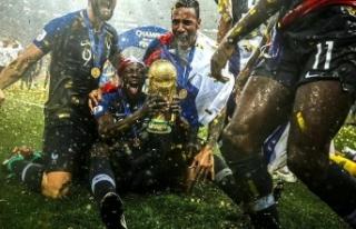 Fransa'ya Dünya Kupası'nı göçmenler...