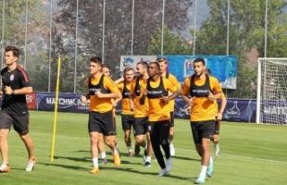 Galatasaray'da yeni sezon hazırlıkları sürüyor