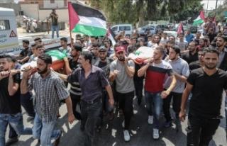 Gazze sınırındaki gösterilerde 142 Filistinli...