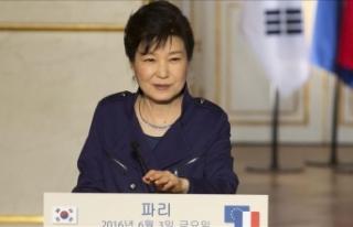 Güney Kore'nin eski Devlet Başkanı Park'a...