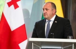 Gürcistan Cumhurbaşkanı Margvelaşvili'den...