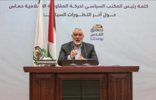 Heniyye ile BM Koordinatörü Mladenov Gazze'de...