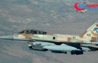 İsrail ordusu yine Suriye'yi vurdu
