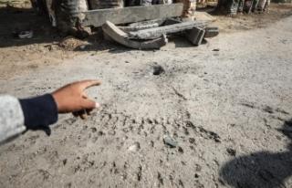 İsrail Gazze'de Hamas'a ait mevziye saldırı...