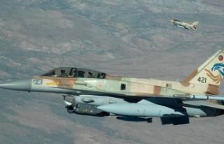 İsrail'in Suriye'ye saldırdığı iddia...