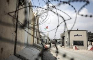 """İsrail Kerm Ebu Salim Sınır Kapısı'nı """"sükunet..."""