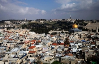 İsrail Kudüs'ü ziyarete gelen 90 Türk'ü...